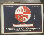 1920's Half Gallon Motor Oil Can