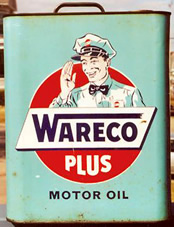2 Gallon Motor Oil Can - Wareco