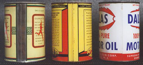 Quart Motor Oil Can Types